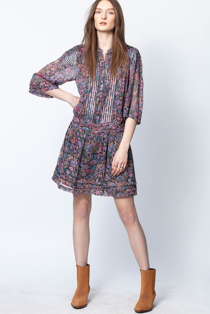 Rimo Print Mandala Dress