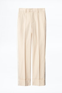 Pantalón Pomela de algodón