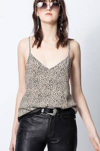 Cemarks Leo Print Camisole
