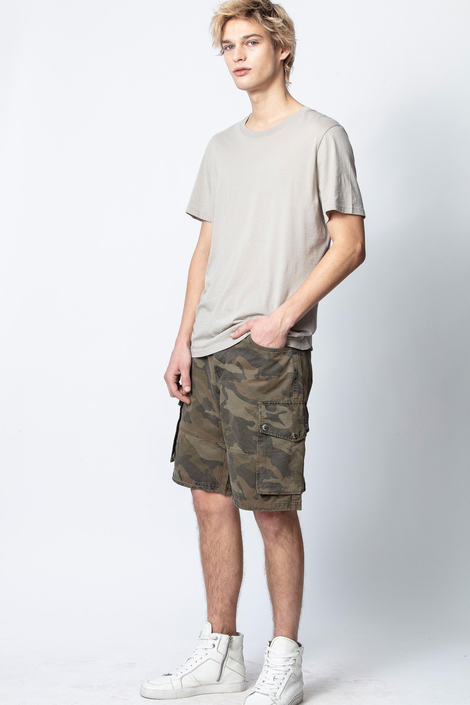 Pidji Camo Shorts