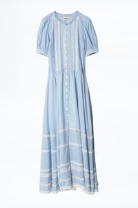 Regard Cotton Rayé Dress