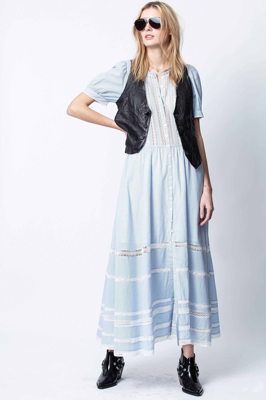 Kleid Regard Baumwolle Gestreift