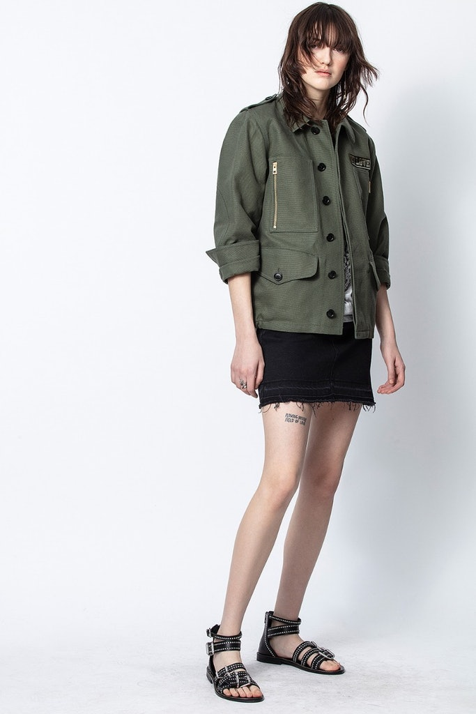 Kode Canvas Parka