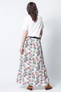 Josia Print Flower Skirt