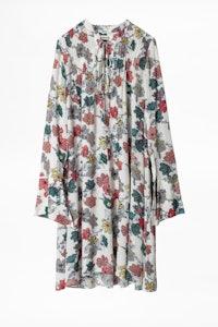 Robe Raika Print Flower