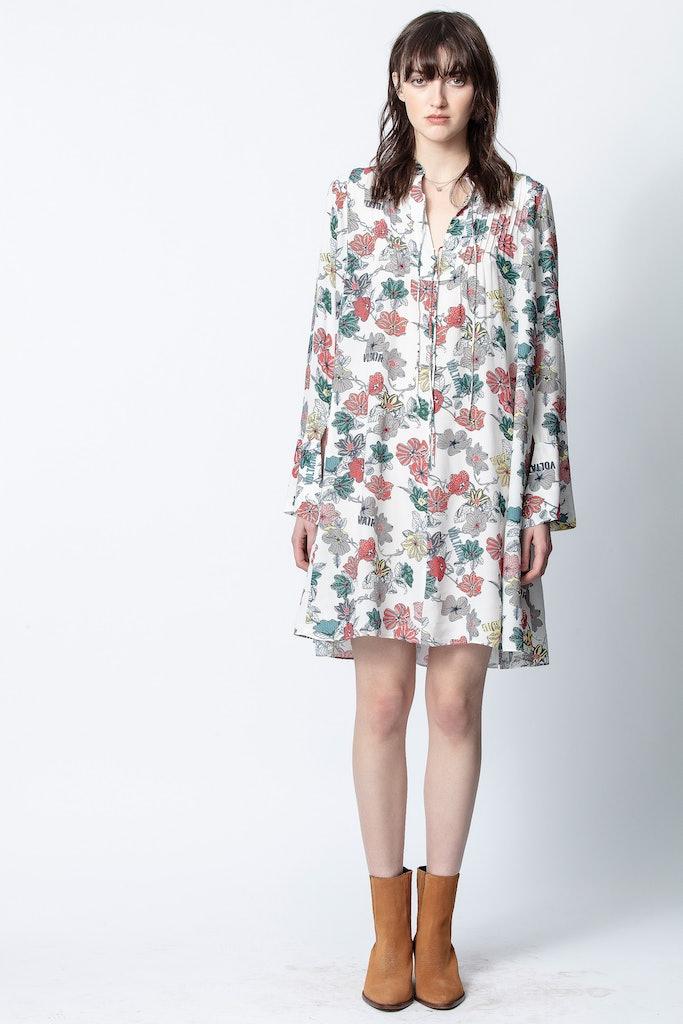 Raika Print Flower Dress