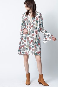 Raika Print Flower Dress