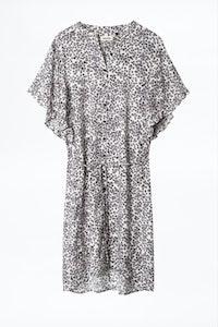 Rafix Print Hortensia Dress