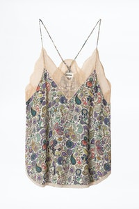 Top lencero Christy Print Mandala