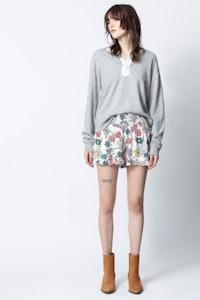 Sophie Print Flower Shorts