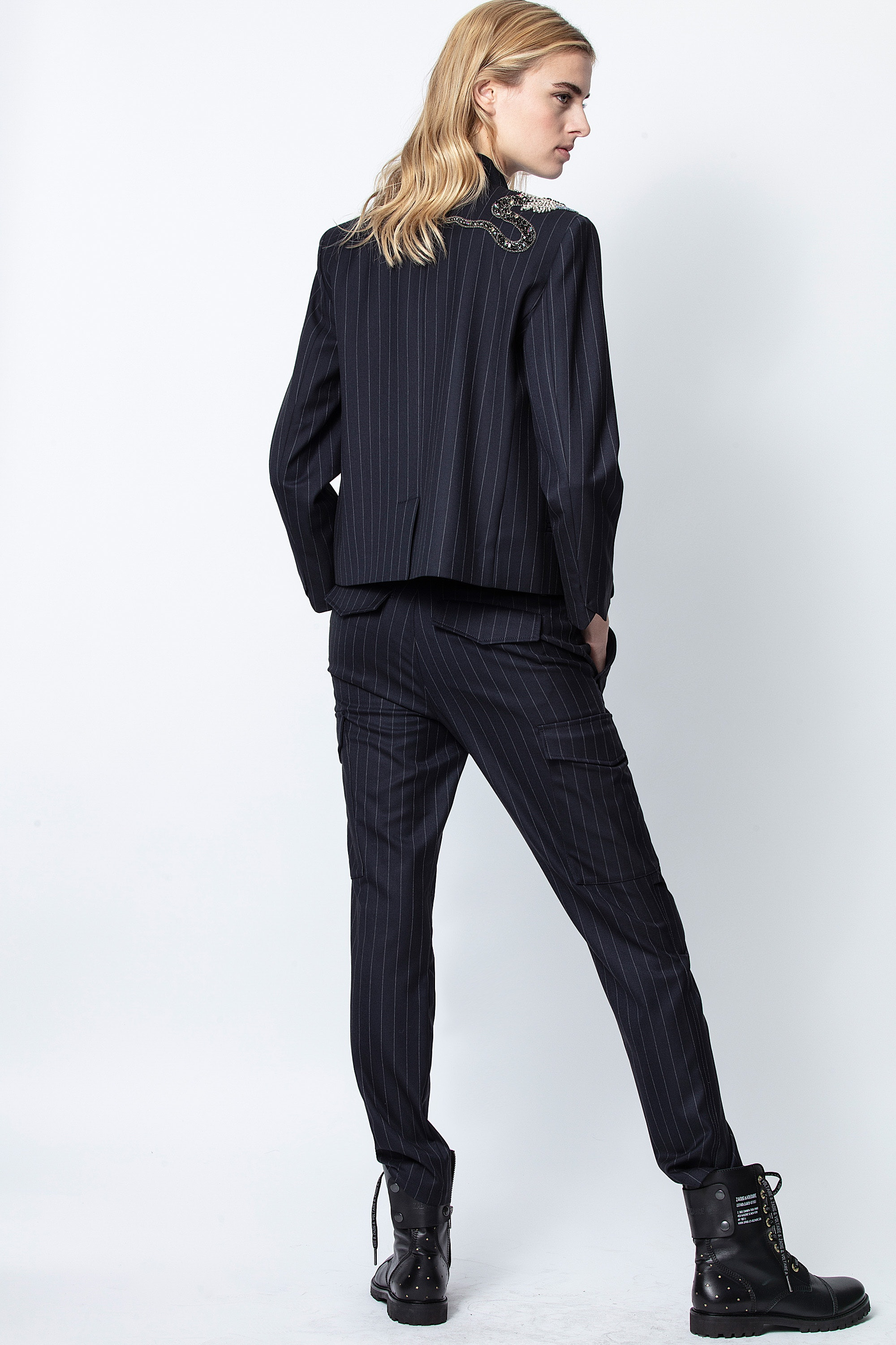 Palmy Pinstripes Pants