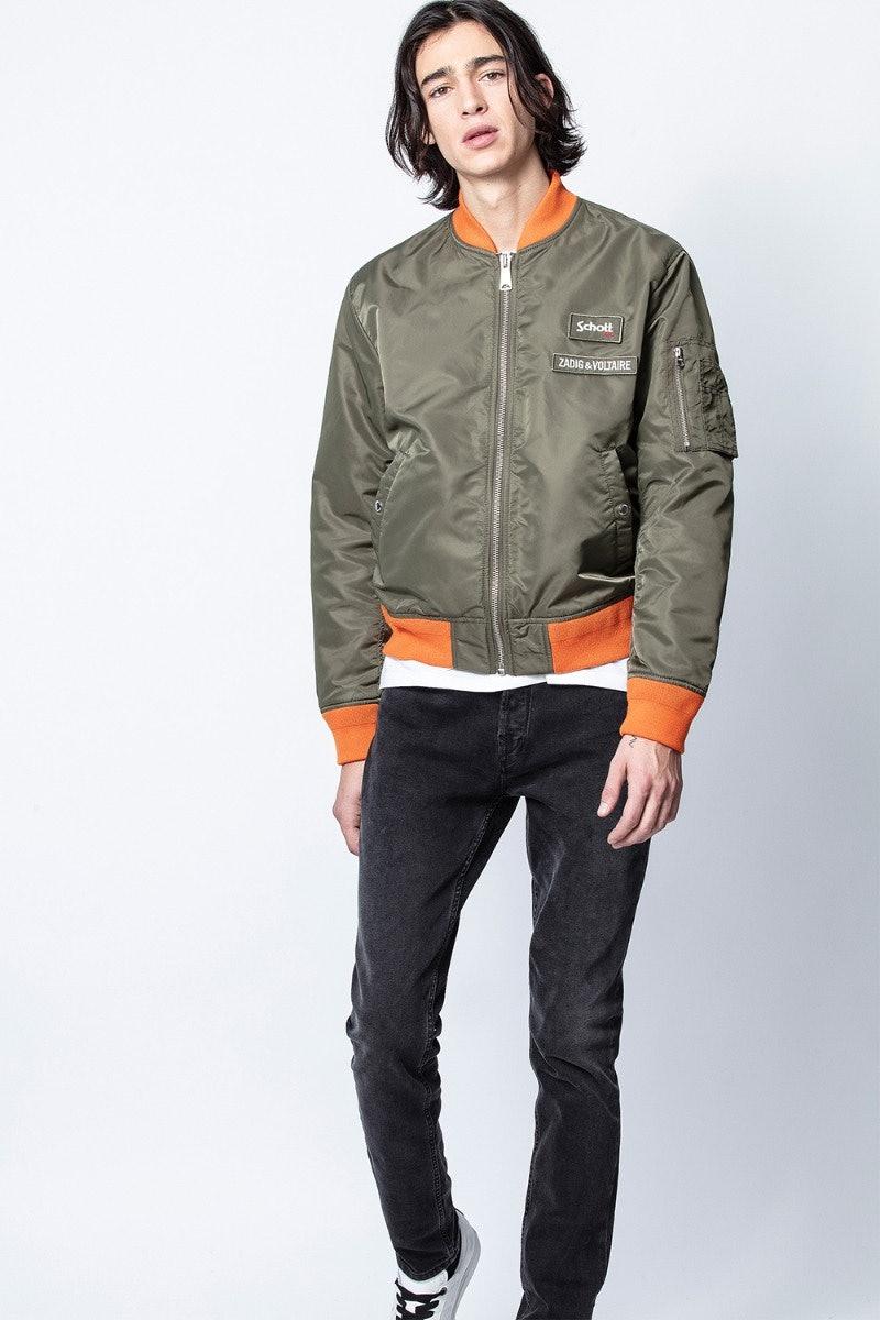 ZV X Schott Jacket