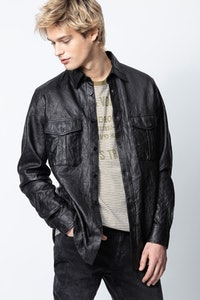 Chemise Taskah Crinkle Leather