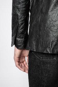 Jacke Valfried Crinkle Leather