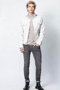 Blouson Base Crinkle Leather