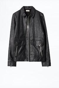 Bobby Crinkle Leather Jacket