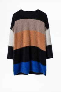 Pull Reggy Stripes Cachemire