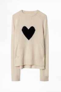 Pull Lili Heart Cachemire