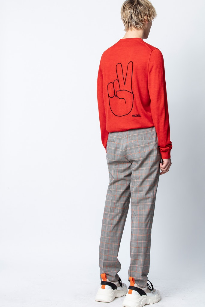 Kennedy Peace Sweater