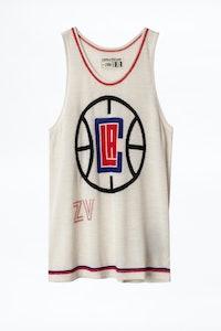 Camiseta sin mangas Edera Clippers NBA x ZV