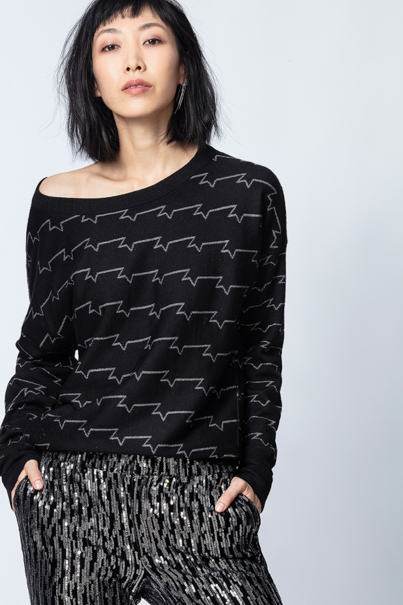 Anouck ZV Allover Sweater
