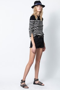 Pullover Delly Stripes Beads
