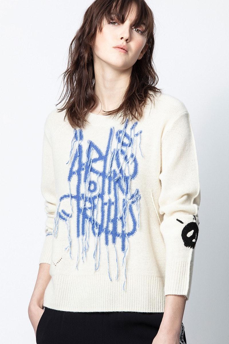 Chunky Art Cachemire Sweater