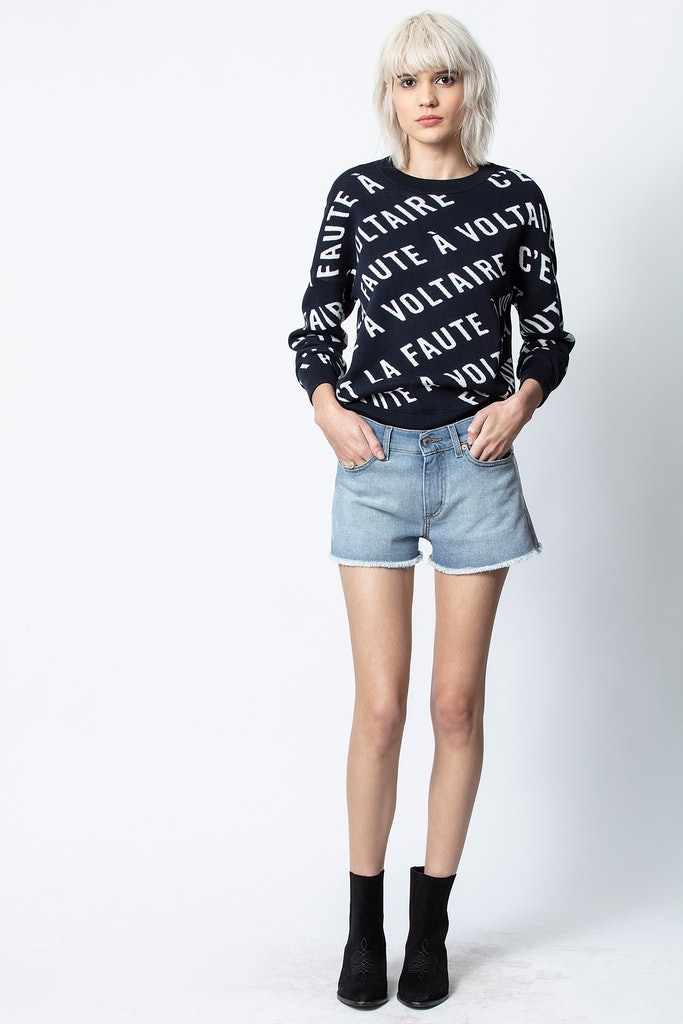 Anouck Voltaire Jacquard Sweater