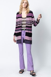 Marilou Stripes Cardigan