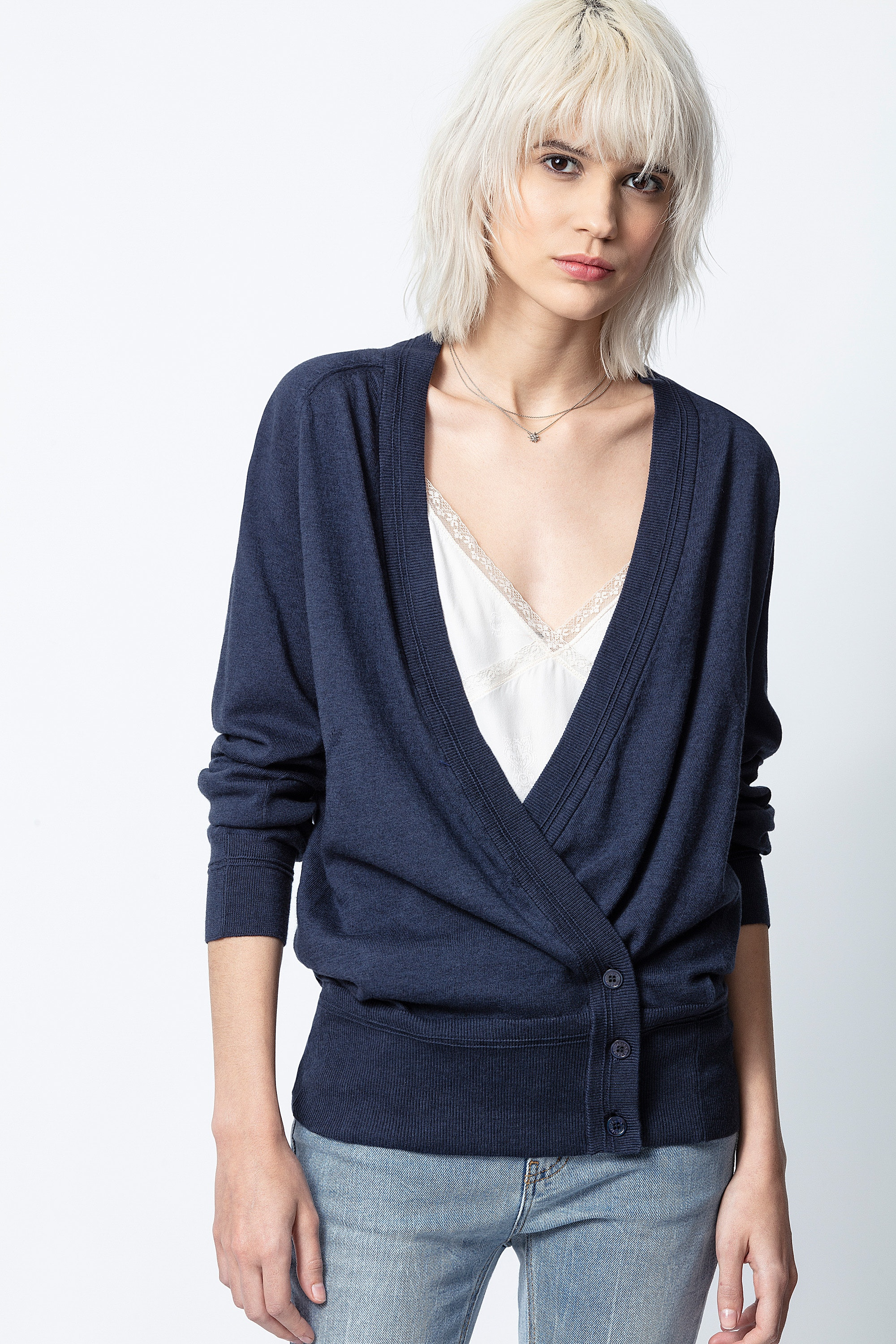 Bree Twist Cardigan