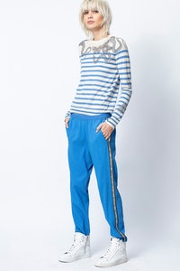 Pull Miss Stripes Multicusto Cachemire