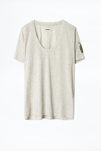 Camiseta Tino Moni Cannetille con bordado