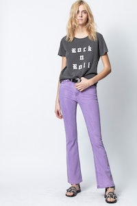 Alys Rock And Roll Strass T-Shirt