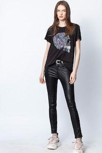 T-Shirt Redo Mandala Skull