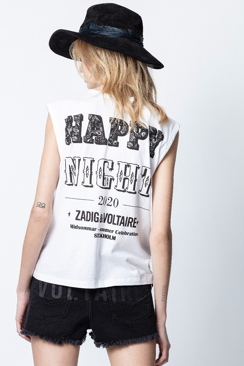 Adria Happy Night Tank Top