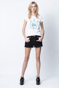 T-Shirt Skinny Skull Jormi