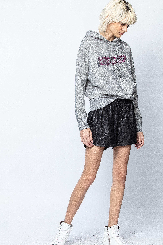 Clipper Voltaire Scribble Sweatshirt