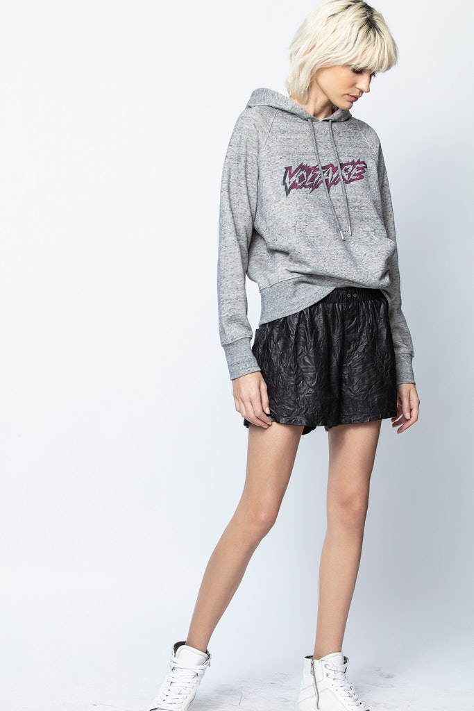 Clipper Voltaire Scribble Sweatshirt