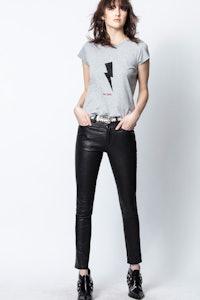 T-Shirt Skinny Flashlight Just Zadig