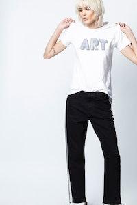 Tom Art 3D Strass T-Shirt