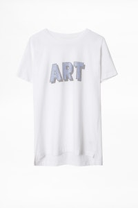 Tom Art 3D Strass T-Shirt