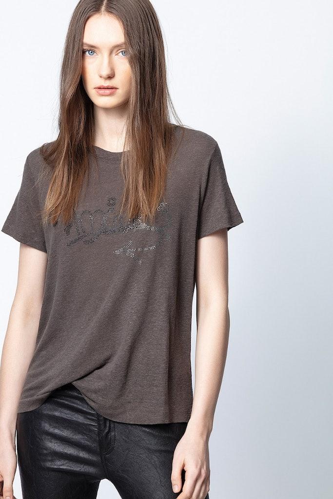 T-Shirt Azedi Strass Jormi