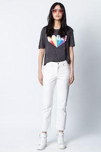 T-Shirt Kanye Cool Rainbow