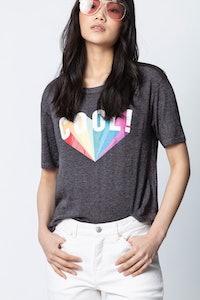 Kanye Cool Rainbow T-Shirt