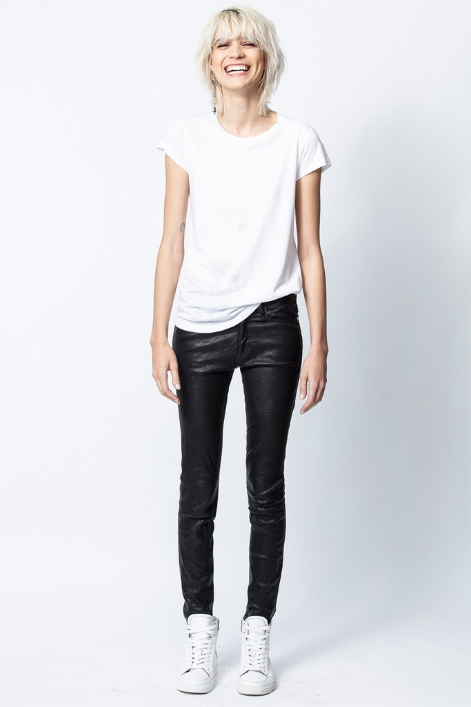 T-Shirt Skinny Star Strass