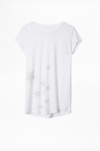 Camiseta Skinny Star Strass