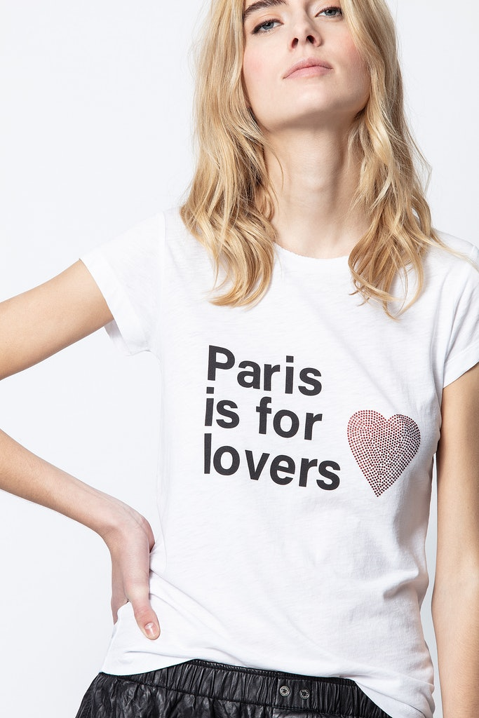 T-Shirt Skinny Paris Lovers