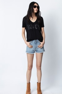 T-Shirt Tino Strass Rock