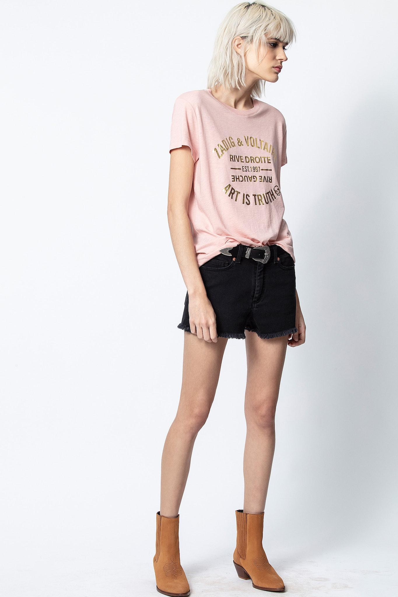 T-Shirt Walk Blason