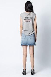 Camiseta sin mangas Aspen Rainbow Line